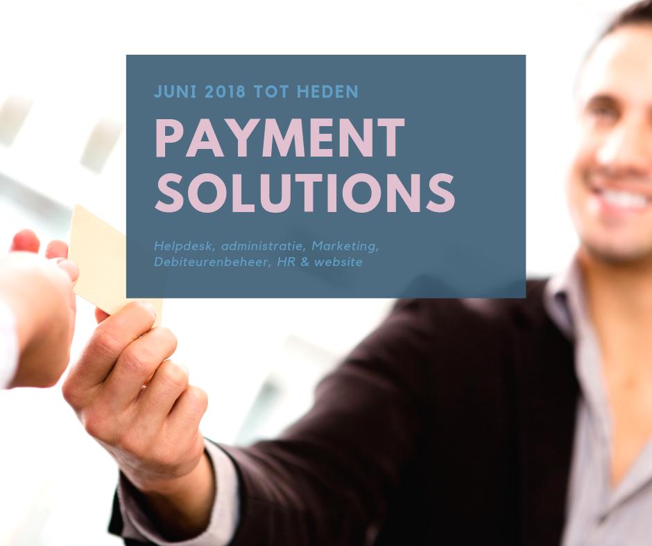 Boekhouding voor Payment Solutions