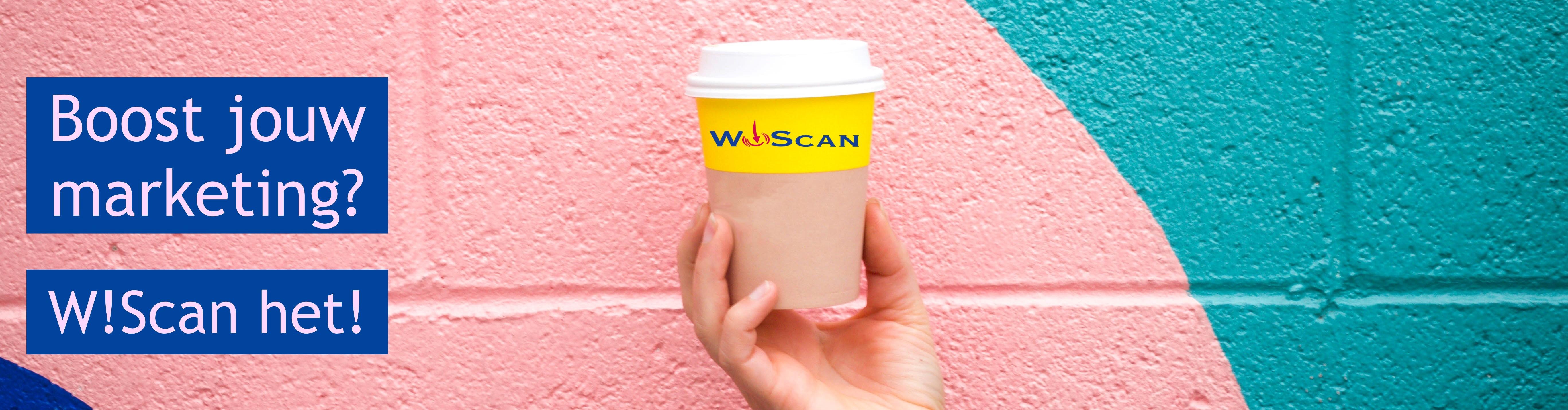 WIScan jou ontzorgen bij jouw marketing.