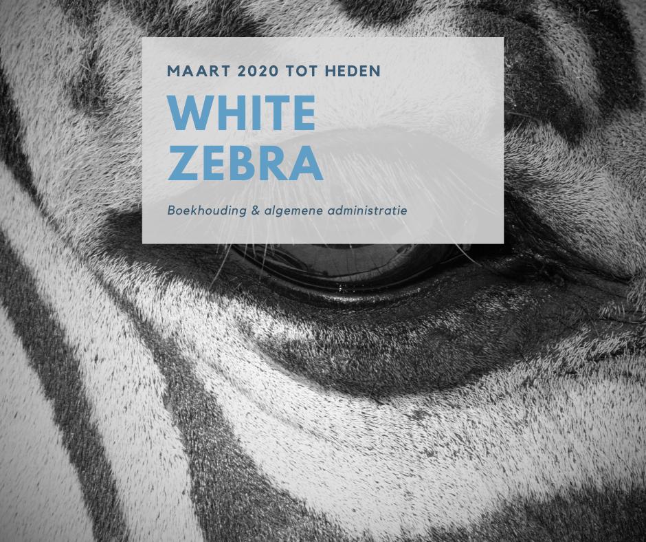 Boekhouding en administratie bij Christian Detré van poetsbedrijf White Zebra